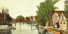 Gezicht op Broek op Langedijk omstreeks 1920