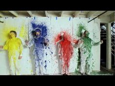 """Ok Go- """"This Too Shall Pass""""  These guys always have amazing videos."""