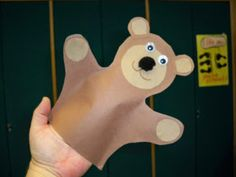 Winter Bear Storytime with Bear Puppet Craft
