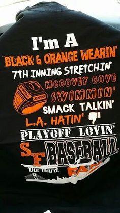 Go San Francisco Giants...