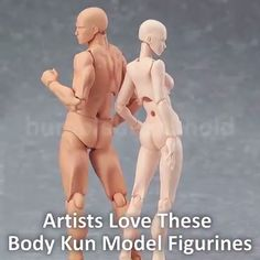 These highly realistic Body Kun Figures are the best way to take your drawing to the next level each doll is fully customizable with over 30 articulated joints a stand 7 props and 17 interchangeable hands. Body Drawing, Figure Drawing, Drawing Lessons, Drawing Tips, Pose Reference, Drawing Reference, Body Kun, Poses, Art Techniques