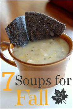 """Fall is about warming up with a pot of soup. It's the official comfort food of the season. We've rounded up 7 of our favorite soups for fall that are easy, hearty, and will warm you up on those """"chili"""" nights ahead."""