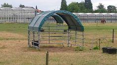 horse shelter - good idea!