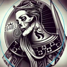 og abel new art - Google Search                              … New Tattoos, Hand Tattoos, Og Abel Art, Wiccan Art, Lowrider Art, Chicano Art, Skull Art, Black And Grey Tattoos, Art Google
