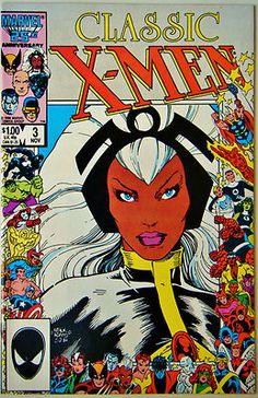 Cornerstone Comics & Collectibles : Classic X-men #003 (Nov. 86') VF+ (8.5) Uncanny X-men #95/ New Thunderbird Story