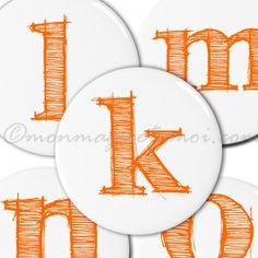 Magnets alphabet  http://www.monmagnetamoi.com/boutique-magnet/alphabet/lettres-alphabet/