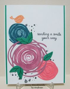 Savvy Handmade Cards: Stampin' Up! 2016-2018 In Color Card