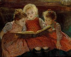 Walter Firle - Fairy Tales  Love this sweet picture.  Just found one locally.