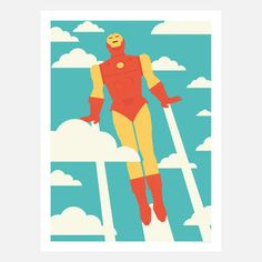 Minimalist Pop-Culture Prints by Andrew Heath. Currently available on fab.com Great gifts for the college student.