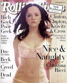 """Christina Ricci - Added to Beauty Eternal - A collection of the most beautiful women. suicideblonde: """"bohemea: """" Christina Ricci - Rolling Stone by Peggy Sirota, December 1999 """" """" Christina Ricci, Beautiful Christina, Christina Aguilera, Seinfeld, Santa Monica, Aquarius, Stewart, Actrices Hollywood, Actress Christina"""