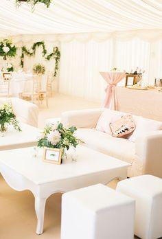 Garden wedding tent lounge areas ideas for 2019 Lounge Party, Wedding Lounge, Tent Wedding, Wedding Seating, Wedding Backyard, Garden Wedding, Wedding Backdrops, Brunch Wedding, Wedding Receptions