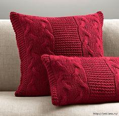 подушки из свитера33 (554x540, 291Kb)