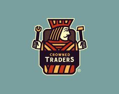 Crowned Traders logo and color scheme