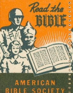Read the Bible! American Bible Society, 1950.