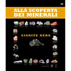Cianite nera #minerali #edicola #collezione