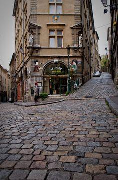 La rue des maccabés - Lyon
