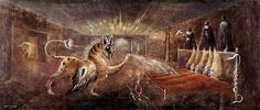http://3.bp.blogspot.com/-LfReoml818k/TyLie8yTHRI/AAAAAAAABUE/AH7Z2Owuwzg/s400/leonora-carrington-oink-museos-y-pinturas-juan-carlos-boveri.jpg