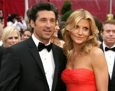 Patrick Dempsey Dempsey's now-wife Jillian Fink was giddy when she found out that the TV star made an appointment for her to cut his hair. The couple married in Fink still does Dempsey's hair, now as both his stylist and his wife. Celebrity List, Celebrity Babies, Celebrity Couples, Celebrity Gossip, Celebrity Weddings, Celebrity Crush, Addison Montgomery, Patrick Dempsey Wife, Kate Walsh