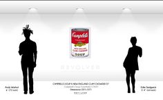 Andy Warhol Campbell's soup New England clam chowder 57