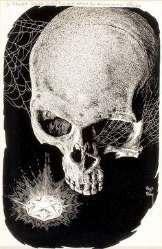 #skulls #skeletons #art #artwork