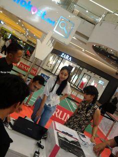 Hyuuuk yang mau cari kost di booth kita jg boleh ;) dibantu sama Mimin Infokost loh..