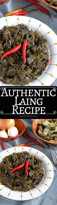 671 best pinoy food images on pinterest filipino food cooking authentic laing recipe taro leaves in coconut milk forumfinder Gallery