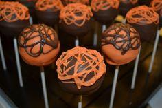 Oarnge Supreme Cake Pops