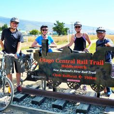 We cycled the Otago Rail Trail.  See the story on Notforgotten.tv