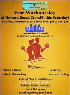 FREE!! Workout day at Howard Beach CrossFit is Tomorrow ! Join Us Email Registration http://conta.cc/1Su7bKs Facebook Registration http://on.fb.me/1m7xPhx
