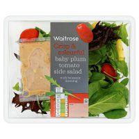 Waitrose crisp & colourful baby plum tomato side salad @ 96 calories
