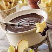 Slow-Cooker Chocolate Fondue recipe from Betty Crocker