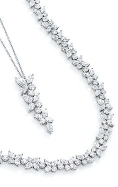 Radiating beauty and mystery, Tiffany Victoria® designs blaze like stars in the night sky.