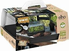 Grow Kit, Growing Seeds, Large Plants, Window Sill, Hanging Planters, Black, Velvet, Garden Box Raised, Black People