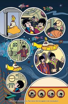 The Beatles' Yellow Submarine Is Getting a New Comic Book Adaptation Next Year Poster Dos Beatles, Beatles One, Beatles Photos, Beatles Books, Band Wallpapers, Cute Wallpapers, Yellow Submarine Art, Jazz, Ligne Claire