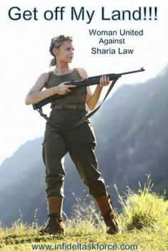 say no to sharia law Arrest Barack Obama and Hillary Clinton for Treason. Sharia Law is the war against women. Religion, Sharia Law, By Any Means Necessary, Thing 1, My Land, God Bless America, We The People, Wake Up, In This World