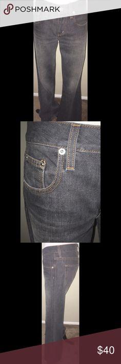 "Victoria's Secret Flare Leg London Jeans - Size 2 Victoria's Secret Flare Leg London Jeans in a Vintage Gray Wash.  Size 2 with a 32"" inseam.  Excellent condition! Victoria's Secret Jeans Flare & Wide Leg"