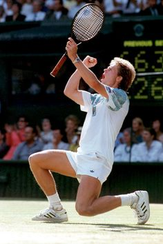 One of the best and most elegant tennis players ever, Stefan Edberg, my idol.