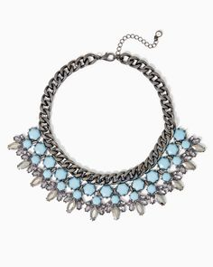 charming charlie | Hexagon Cluster Necklace | UPC: 450900462499 #charmingcharlie