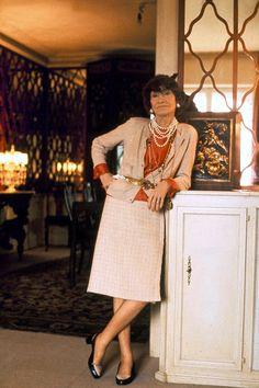 Coco Chanel 1970  Un año antes de su muerte