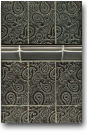 Red Rock Tileworks: Paisley tile