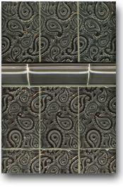 Red Rock Tileworks: Paisley tile