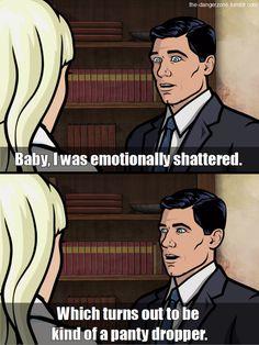 Archer. funny humor