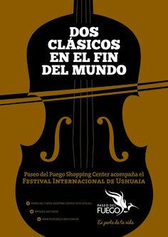 Cliente: Paseo del Fuego Shopping Trabajo: diseño de afiche de evento