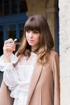 14 Instababes Who Will Make You Rethink Your Hair Color for the Winter via Brit + Co Hairstyles With Bangs, Pretty Hairstyles, Paris Chic, Paris Style, Sexy Blouse, Hair Color And Cut, Hair Day, Hair Inspiration, Your Hair