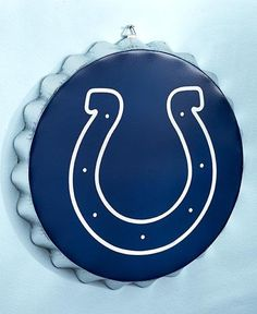 #INDIANAPOLISCOLTS #JoSam1129 NFL INDIANAPOLIS COLTS Metal Bottle Cap Wall Sign - Man Cave - Bar Sign #ForeverCollectibles #IndianapolisColts