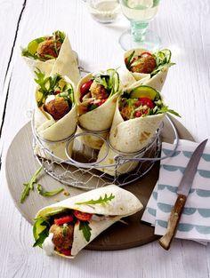 Unser beliebtes Rezept für Falafel-Wrap und mehr als 55.000 weitere kostenlose Rezepte auf LECKER.de.