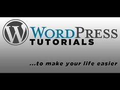 Awesome post about >>> Wordpress Tutorial | Step-by-Step | Wordpress For Beginners - 75 bite size videos & More