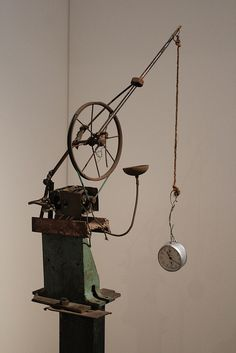 "Jean Tinguely- Fragment of ""Homage to New York"""