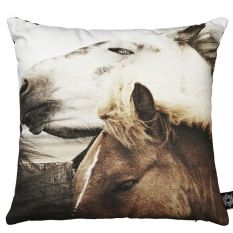 Mare and Foal cushion from By Nord | Horse cushion at Mikkili online design