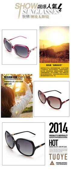 cool Women's polarized sunglasses 7273 sunglasses polaroid men women kids female safety goggles   sunglasses protective round 3D Toad